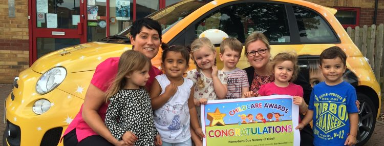 Ercall voted best in UK's top Childcare Awards