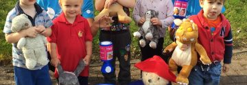 Children and their bears from Honeybuns Nursery raise over £425 for Action Medical Research