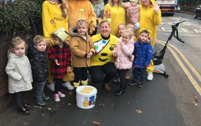 a whopping £2,015 raised for Children in Need…