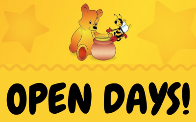 Open Days – Booking Now